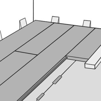 Как положить ламинат на неровный деревянный пол: особенности монтажа