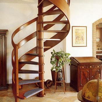 Расчет винтовой лестницы своими руками: формулы, правила, нюансы