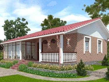 Проекты домов с террасой и верандой: загородная жизнь с европейским комфортом