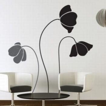 Трафареты цветов для декора: их разновидности, значение, изготовление своими руками и использование
