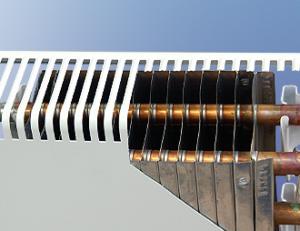 Конструкция медно-алюминиевого конвектора