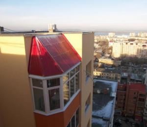 Наклон крыши может быть разным
