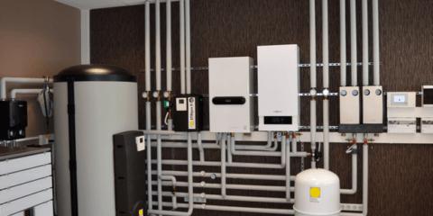 Система отопления в загородном коттедже