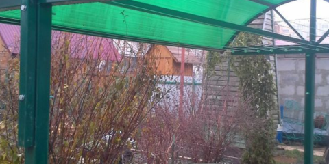 Сушилка с навесом от дождя