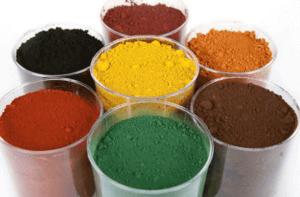 Железоокисные пигменты для бетона