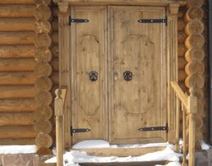 Глухие двери для бани