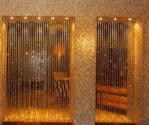 Нитяные шторы вместо дверей