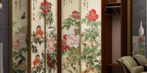 Шкаф в азиатском стиле