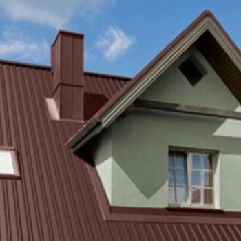 Крепление профнастила на крыше, особенности материала