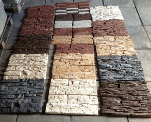 Цветовая палитра декоративного камня