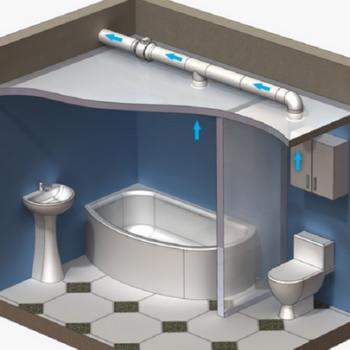 Вентиляция для ванной комнаты: как самостоятельно сделать