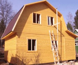 Дом из бруса