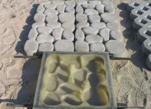 Форма для изготовления брусчатки