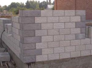 Кладка блоков для дома