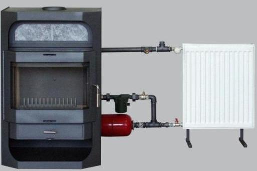 Как работает дровяная печь с водяным контуром, типы и установка