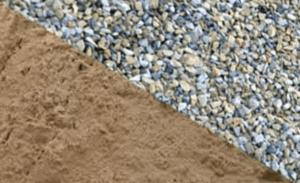 Песок и щебень для бетона