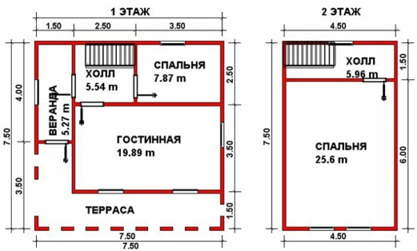 План дома из проекта