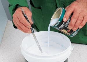 Приготовление водоэмульсионного раствора