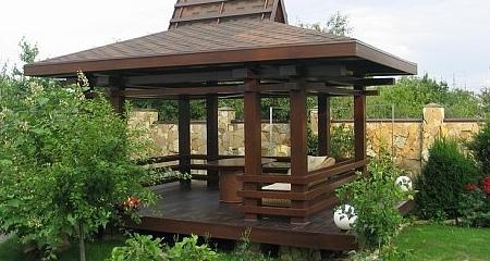 Садовая беседка на даче