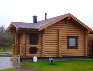 Сборный дом из калиброванного бревна