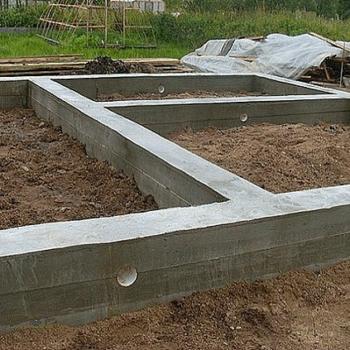 Мелкозаглубленный ленточный фундамент своими руками: инструкция по применению