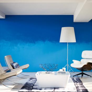 Современная внутренняя отделка: какой краской красить стены в квартире