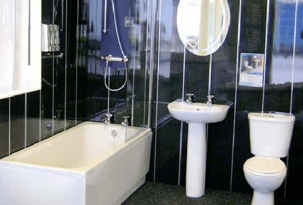 Панели в ванной комнате