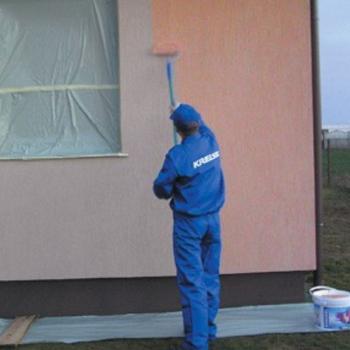 Стройматериал фасадная шпаклевка для наружных работ, его назначение