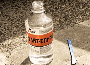Химические средства для удаления силикона