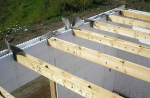 Изоляция деревянного перекрытия