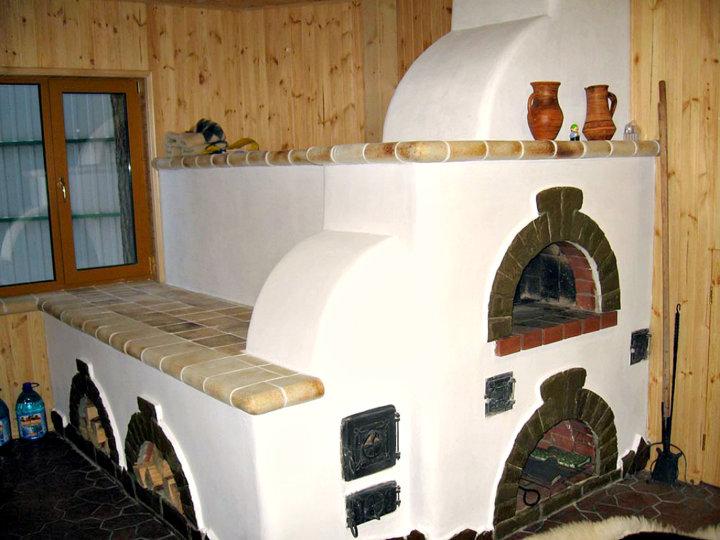 Чем обложить(облицевать) кирпичную печь в доме