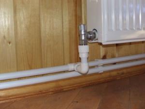 Трубы отопления в частном доме