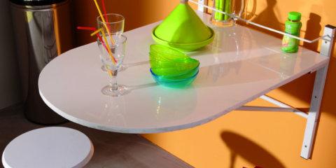 Легкий откидной столик
