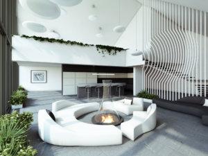 Как визуально увеличить комнату: при помощи обоев и не только