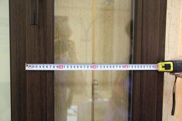 Замеры дверного проема