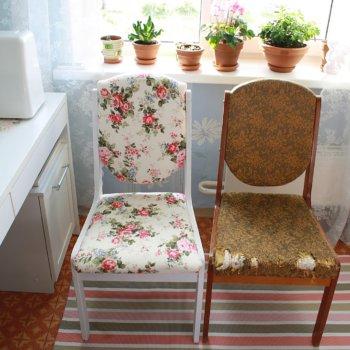 Новая мебель из старой: как обновить старый стул