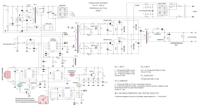 Схема инвертора Бармалея