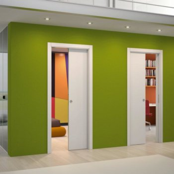 Раздвижные двери межкомнатные: пенал, конструкция