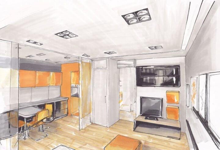 Дизайн-проект капитального ремонта квартиры
