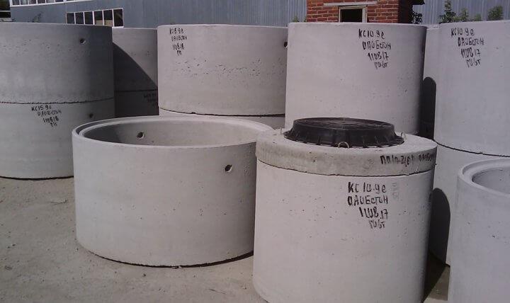 Кольца канализационные: размеры, материалы, область применения