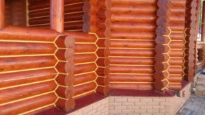 Заделка швов в деревянном доме герметиком снаружи