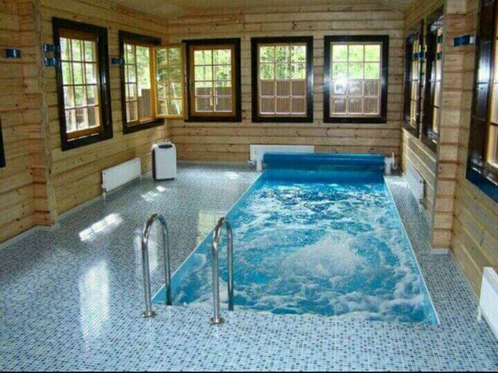Бассейн в бане
