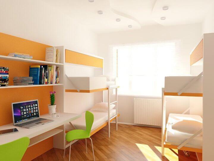 Комната в студенческом общежитии