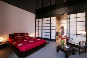 Спальня по фен шуй - цвет и расположение кровати