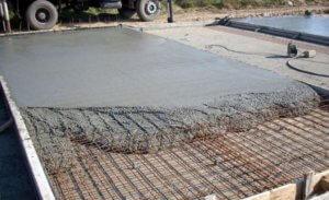 Норма расхода цемента на 1м3 бетона различных классов