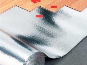 Фольгированная подложка под ламинат