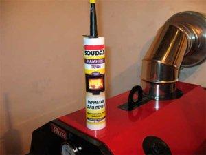 Термостойкий герметик для дымохода