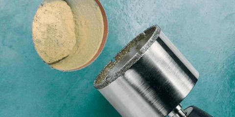 Алмазная коронка для отверстий под розетку в плитке