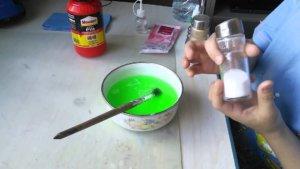 Приготовление клея