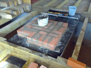 Изготовление печей из кирпича для дома и дачи своими руками